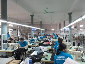 Xưởng sản xuất túi du lịch
