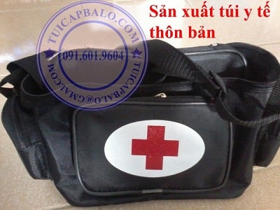 Công ty sản xuất túi đựng dụng cụ y tế, cơ sở sản xuất túi y tế thôn bản, túi y tế cá nhân, túi y tế cứu thương