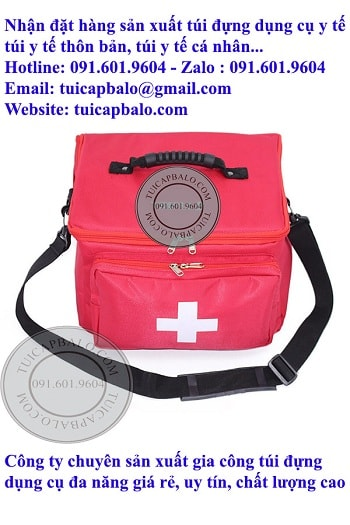 Công ty sản xuất túi đựng dụng cụ y tế giá rẻ tại hà nội, nhận đặt hàng sản xuất tứi đựng đồ y tế, túi y tế thôn bản