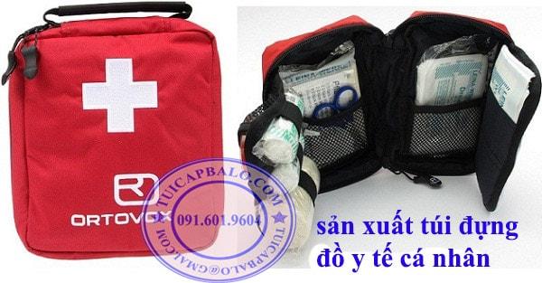 Sản xuất túi đựng dụng cụ y tế cá nhân, nhận đặt hàng sản xuất tưi y tế theo yêu cầu