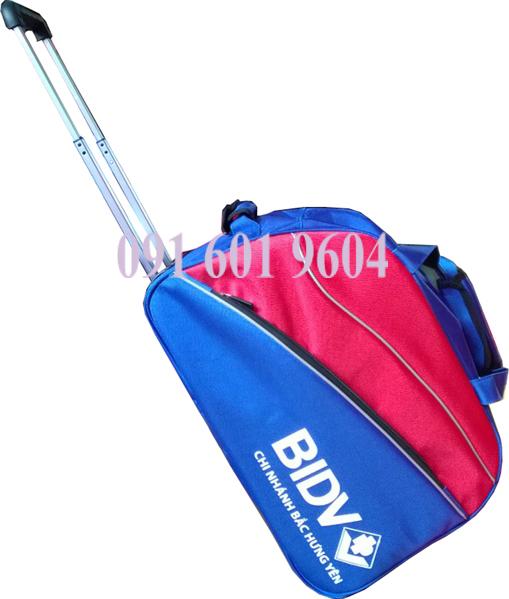 Túi kéo du lịch quà tặng của ngân hàng BIDV