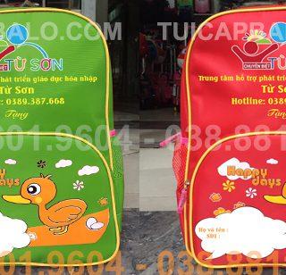 Balo mầm non quà tặng trung tâm chuyên biệt Từ Sơn - Bắc Ninh