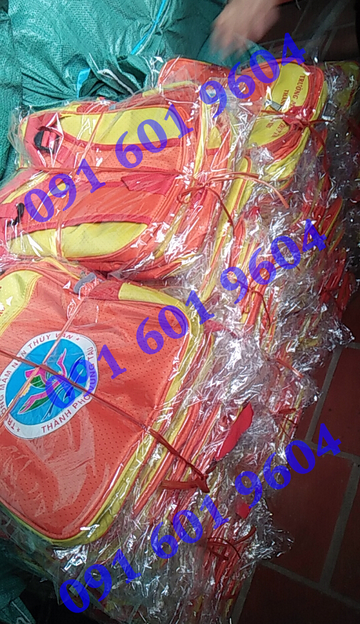 Balo mầm non may tại xưởng Bắc Ninh của Hoàng Ngân