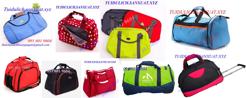 Sản xuất túi du lịch túi trống, túi kéo, túi gấp gọn