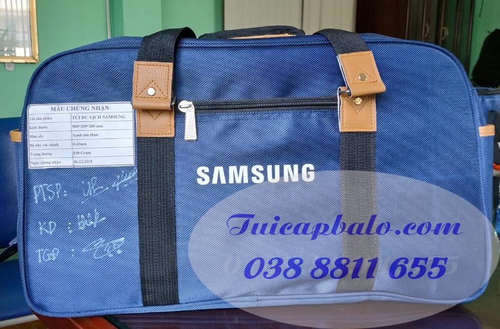 Túi du lịch quà tặng công ty SAMSUNG
