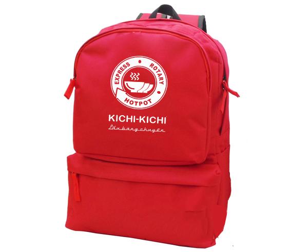 Balo quà tặng khách hàng của Kichikichi do xưởng sản xuất