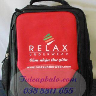 May balo - Mẫu balo quà tặng RELAX