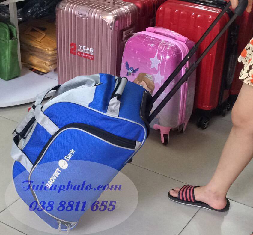 túi du lịch quà tặng công ty Bảo Việt
