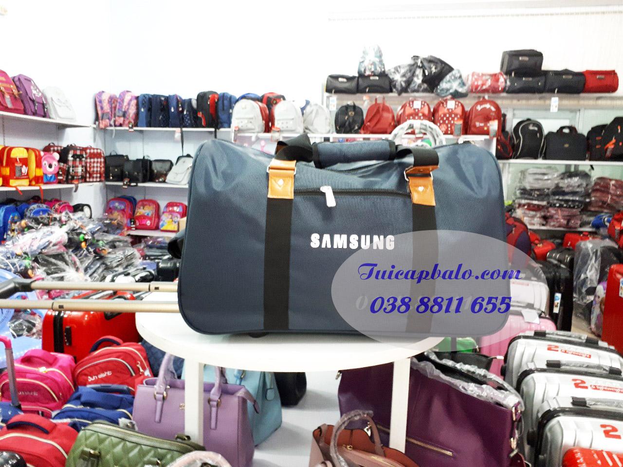 Mẫu túi du lịch quà tặng công nhân công ty SAMSUNG