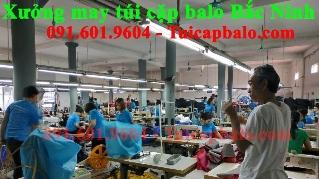 xưởng may túi cặp balo tại Bắc Ninh