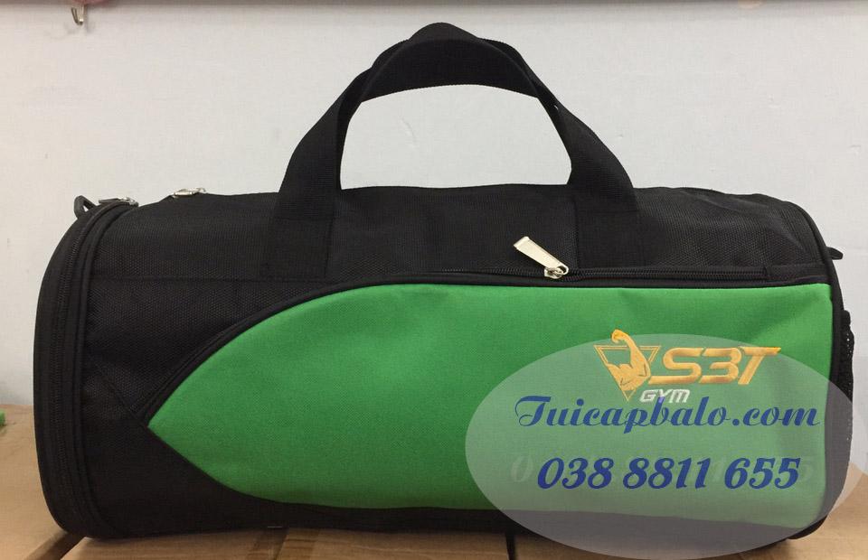 Túi trống thêu logo trung tâm GYM S3T