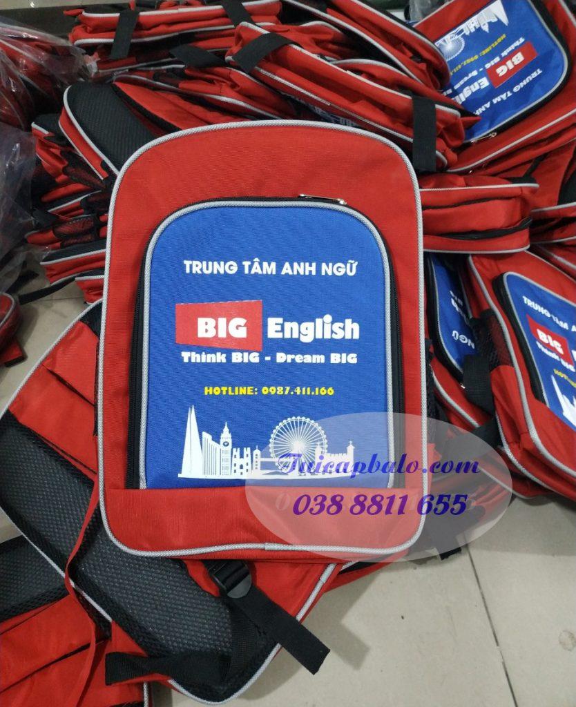 Xưởng may balo anh ngữ giá rẻ tại Hà Nội