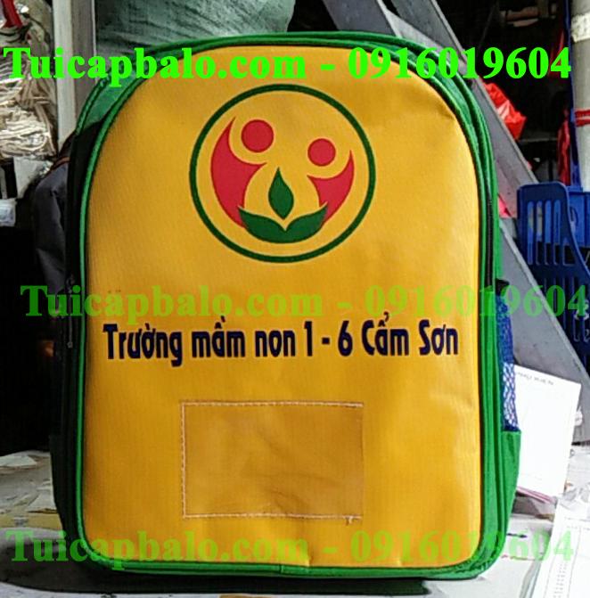 balo đồng phục trường mầm non 1/6 Cẩm Sơn, Cẩm Phả, Quảng Ninh