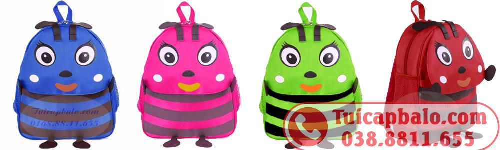 May balo con ong theo màu sắc, chất liệu, kích thước do khách hàng lựa chọn