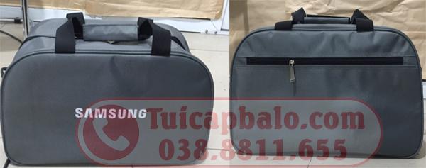 mặt trước và sau túi du lịch SAMSUNG