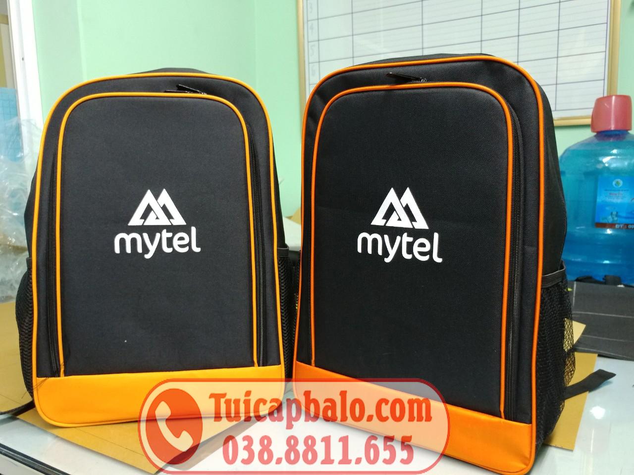 Balo quà tặng khách hàng của MYTEL