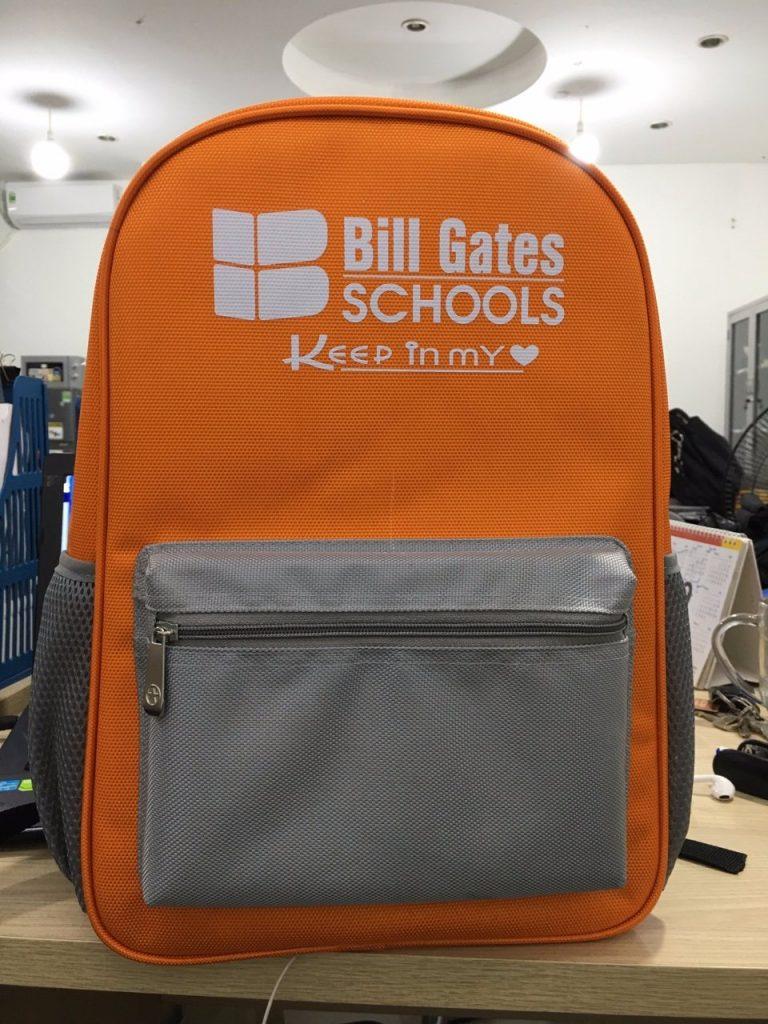 Balo trẻ em mẫu BILGATES School