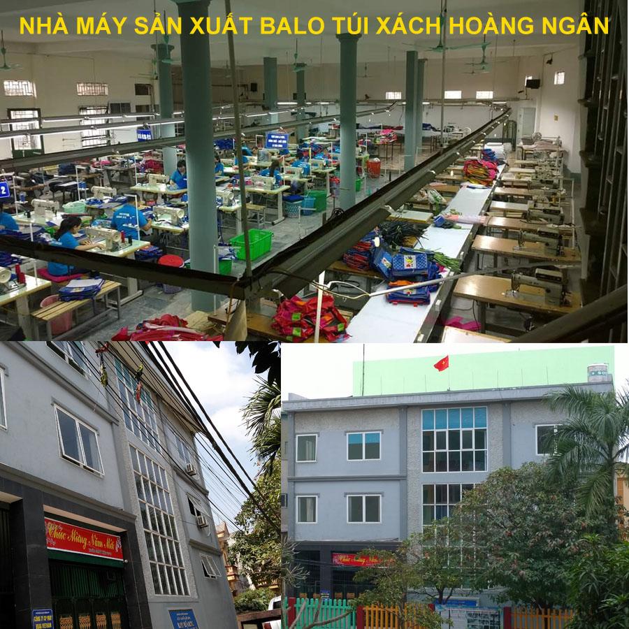 Xưởng sản xuất balo giá rẻ tại Bắc Ninh