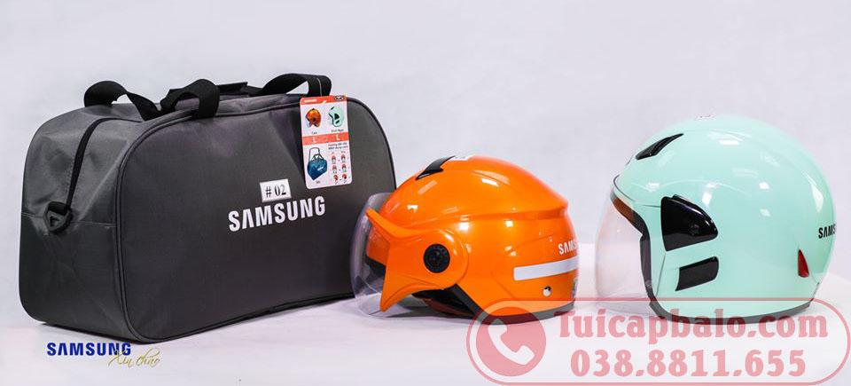 Túi du lịch đựng đồ - quà tặng công đoàn công ty SAMSUNG Việt Nam