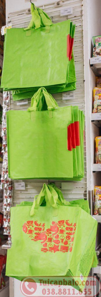 May gia công túi siêu thị shopping bag