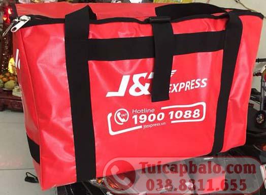 Xưởng sản xuất túi giao hàng cho shipper