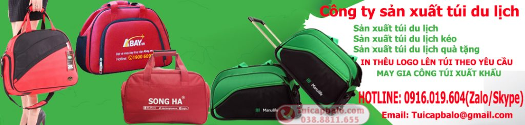 Công ty sản xuất túi du lịch tại Bắc Ninh