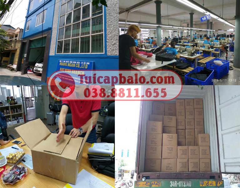 Nhà máy sản xuất balo túi xách tại Bắc Ninh