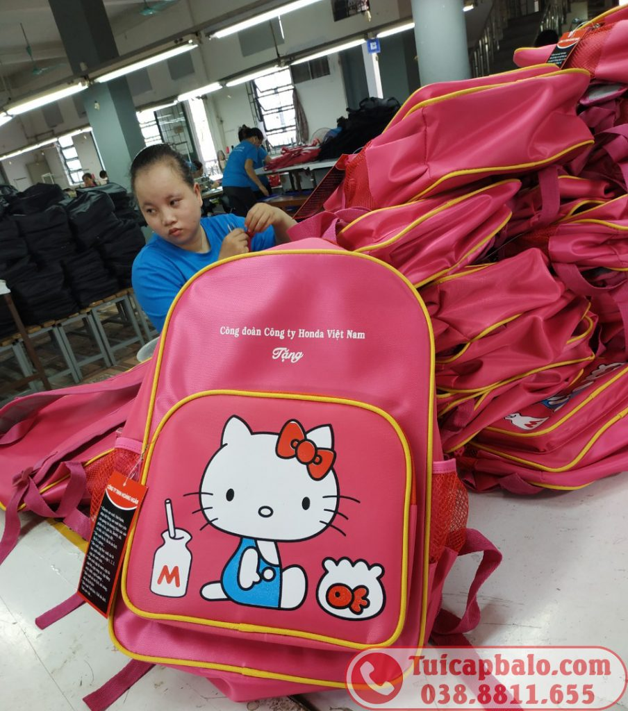 Xưởng may balo trẻ em tại Bắc Ninh