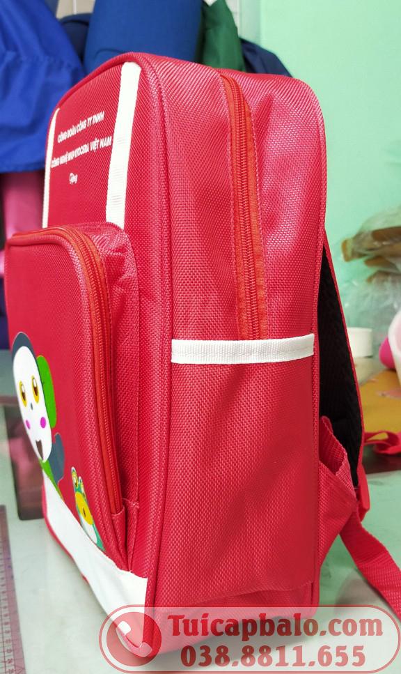 May balo quà tặng trẻ em công ty Kyocera Hải Phòng