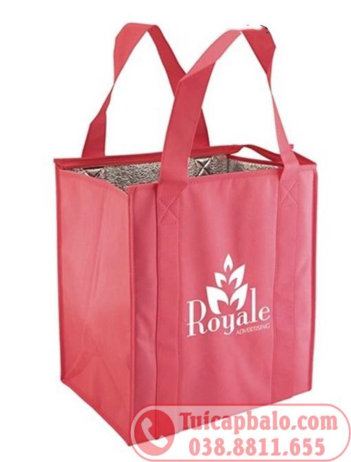 túi giữ nhiệt giá rẻ từ vải không dệt