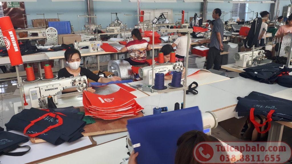 Xưởng may gia công túi giữ nhiệt xuất khẩu