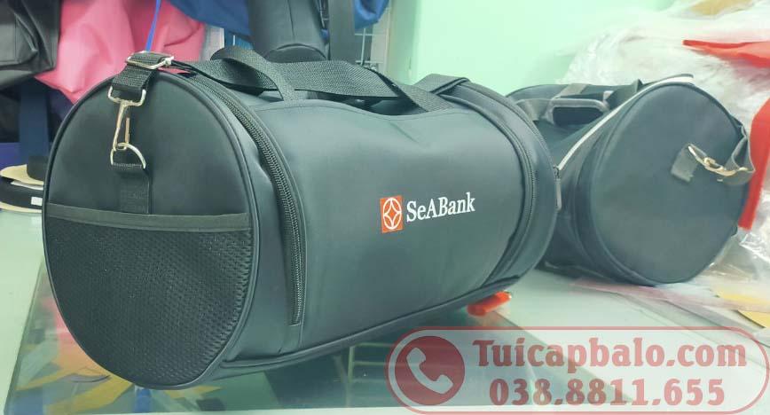 Mẫu túi trống ngân hàng Seabank do Hoàng Ngân sản xuất 2020